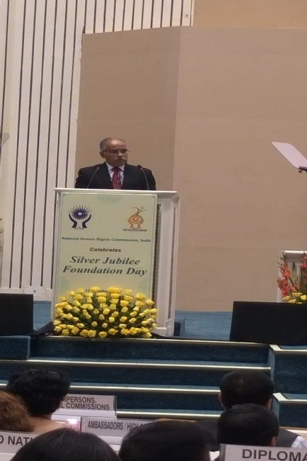 Prime Minister addresses on NHRC's Silver Jubilee Foundation Day (12.10.2018)