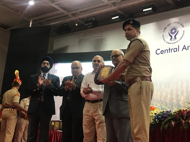 NHRCs Central Armed Police Forces Annual HR Debate Competition 2018 was held in New Delhi on 4th October, 2018.