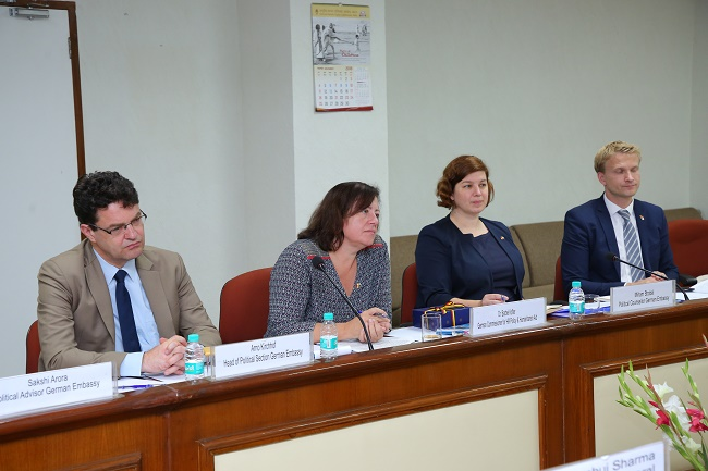 Ms. Barbel Kofler, German Commissioner for Human Rights Policy Aid visited NHRC India on 23.10.2018