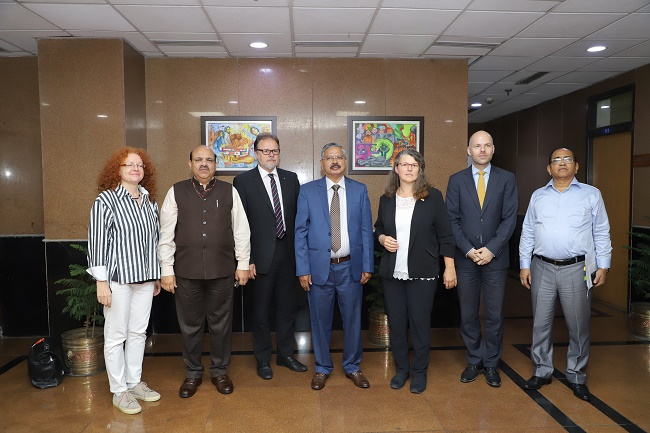 Visit of German delegation