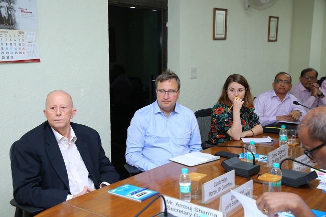 Delegation from World Organisation Against Torture (OMCT), Geneva, Switzerland visited NHRC India on 25.10.2018